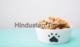 Dog,Treats,In,A,Bowl,On,Wooden,Table