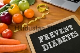 Prevent,Diabetes,Concept,,Fruit,And,Tape,Measure,On,A,Wooden